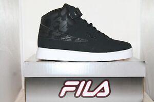 16ff7bbb09ec Mens FILA VULC 13 MP Mid Plus CAMO Retro Basketball Shoes Sneakers ...