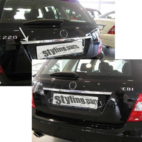 Boot BAR Fairing Chrome For Mercedes W204 S204 C Class Estate T Model