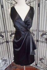 V80 URSULA 13136 SZ 6 BLACK $425 #1558   FORMAL MOTHER OF THE BRIDE GOWN DRESS