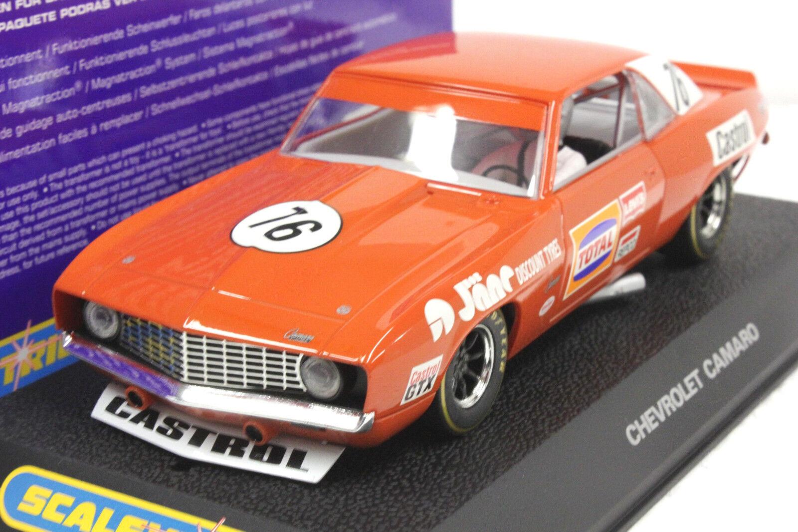 Scalextric C2696 69' Bob Jane Camaro 1 32 ranura de coche nuevo edición limitada-Raro -