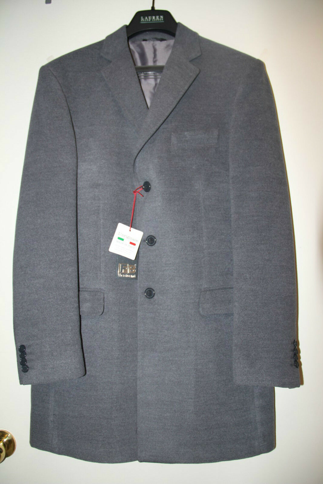 NEW  FB Nextrend Men's Coat -  Sz - US 40,  50 - NWT Made In