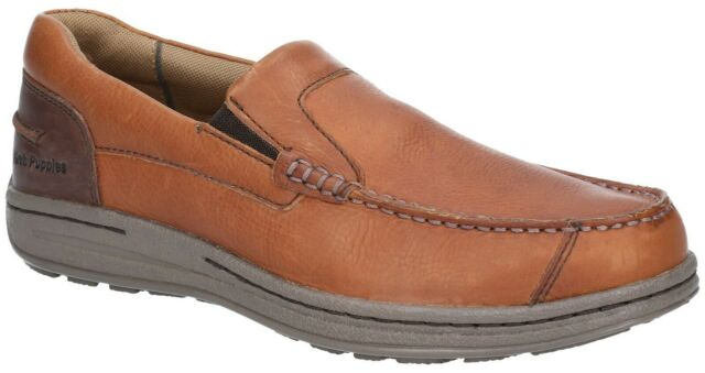 FS6083 Hush Puppies Mens Murphy Victory Moccasin Shoes