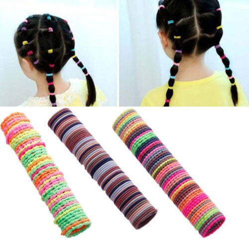 50PCS Elastic Women Girls Hair Band Ties Rope Ring Hairband Ponytail Holder