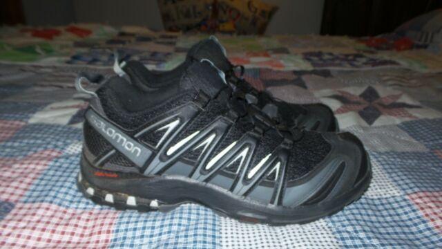 Salomon Men's XA Pro 3D Chassis Mountain Trail Running Shoes Black Size 10.5