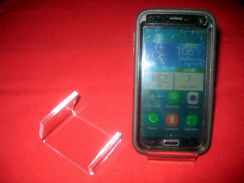 ^SourceOne Premium 6 Pack Clear Acrylic Cell Phone Stand Display Holder New