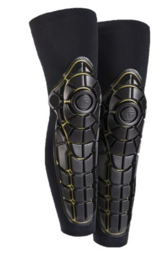 YOUTH SM//MED Black//Yellow G-Form Pro-X Knee-Shin Guard