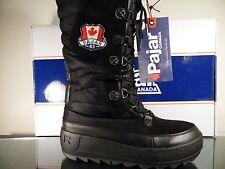 Pajar Women's Greenland Winter Snow Tall Boot - Black US SZ 9.5/10 EUR 42 BNIB