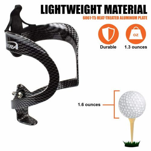 Ibera Bicycle Carbon Lightweight Alloy Water Bottle Cage Bike Holder NEW BC5-CB