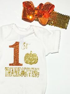 My First Thanksgiving Outfit Set Fashion Baby Outfit Set