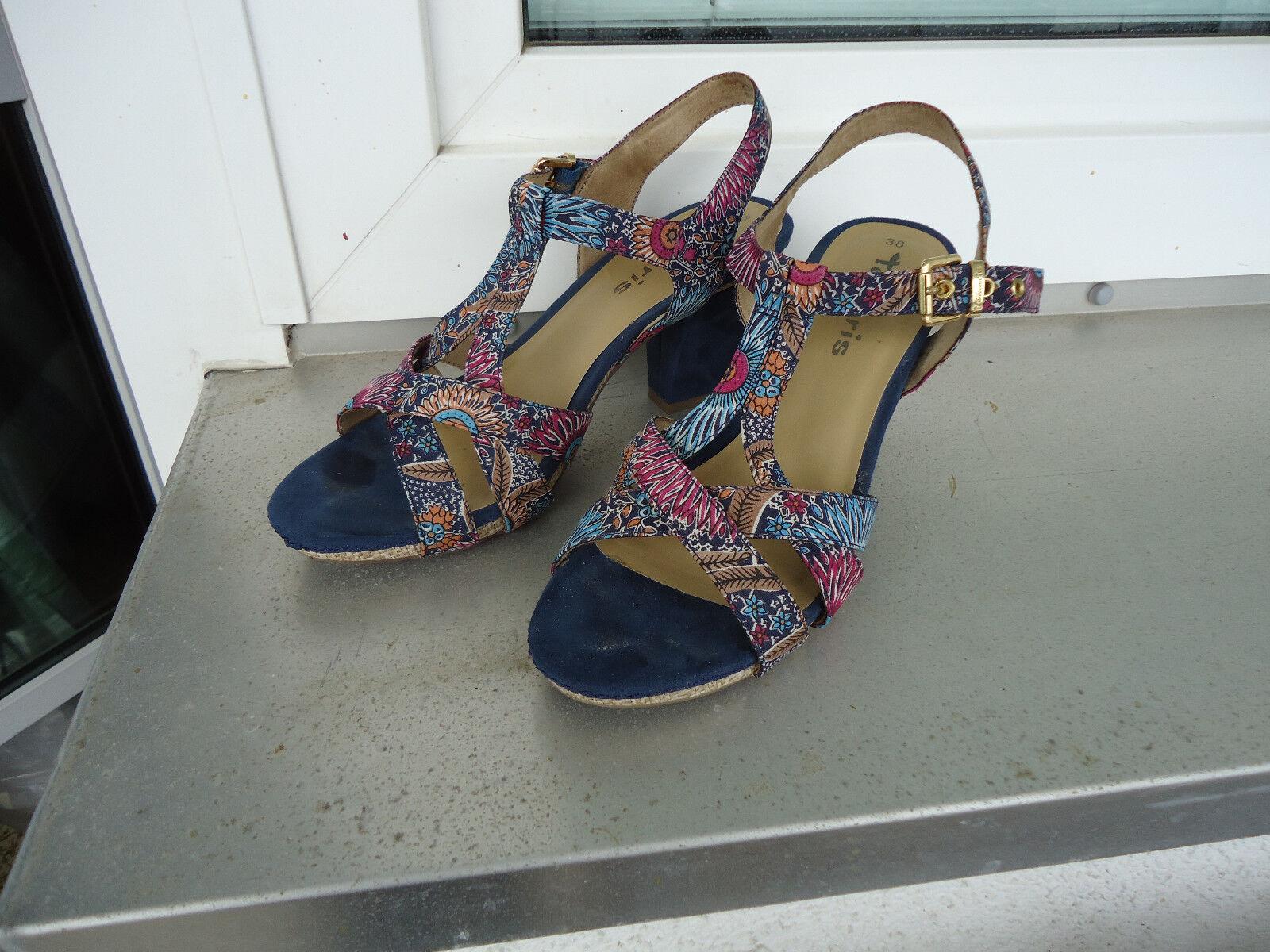Damen Sandaletten HIGH HEELS Gr.38 TAMARIS