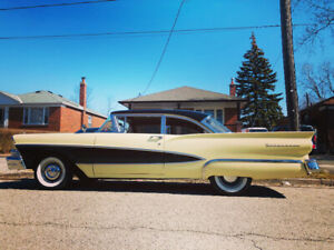 1958 Ford Fairlane 2 door looking at trades, trades up too