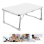 thumbnail 8 - Trestle Table, 60Cm Long, For BBQ, Party, Picnic, Garden, Foldable, Lightweight