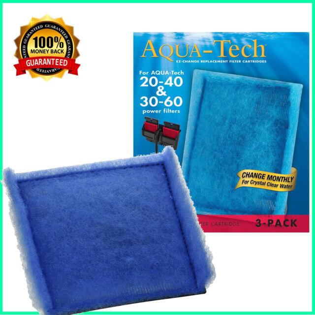 Aqua-Tech EZ-Change Aquarium Filter Cartridge 6-Pack