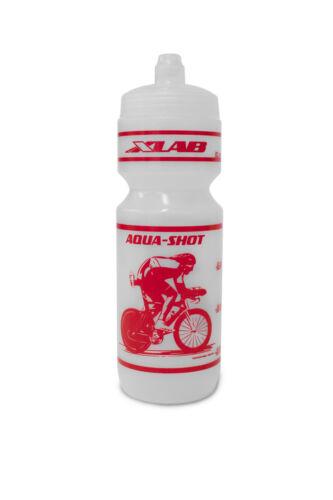 Clear-red XLab Aqua-Shot 25oz Racing Bottle #2189