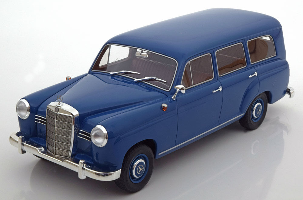 1954 Mercedes Benz 180 Universal bluee by BoS Models 1 18 Scale New  LE of 1000