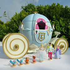 Vintage Polly Pocket Disney Kutsche Cinderella Royal Wedding Carriage Bluebird99