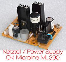 NETZTEIL DRUCKER OKI MICROLINE ML390 ML 390 3R-P9-0038 POWER SUPPLY PRINTER TOP!
