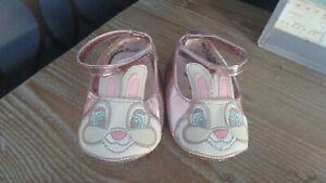 ** Mignon Bébé Fille Disney Thumper Chaussures-disney Baby (3 - 6 Mois) **-afficher Le Titre D'origine