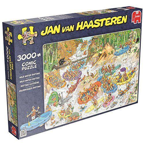 Jumbo Spiele Jan van Haasteren Wildwasser Rafting 3000 Teile Puzzle Puzzle Puzzle Spielzeug 0c6d6c