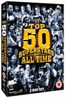 WWE - Top 50 Supestars Of All Time (DVD, 2013, 3-Disc Set)