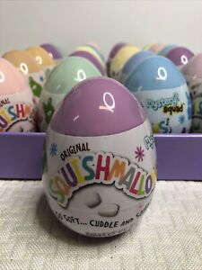"""BRAND NEW 5"""" Squishmallow Easter 2021 Mystery Eggs Squad Kellytoy [1] Multicolor"""