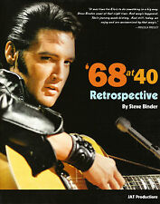 Elvis Presley - 68 at 40 A Retrospective Ltd Ed - Softback Book **********