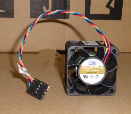 1pcs AVC DB04028B12U P070 4CM 4028 12V 0.6A 4-wire PWM DELL fan
