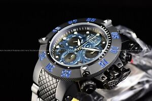 Invicta-Men-039-s-50mm-Subaqua-Noma-III-Swiss-Chrono-Blue-Octopus-in-Deep-Sea-Watch