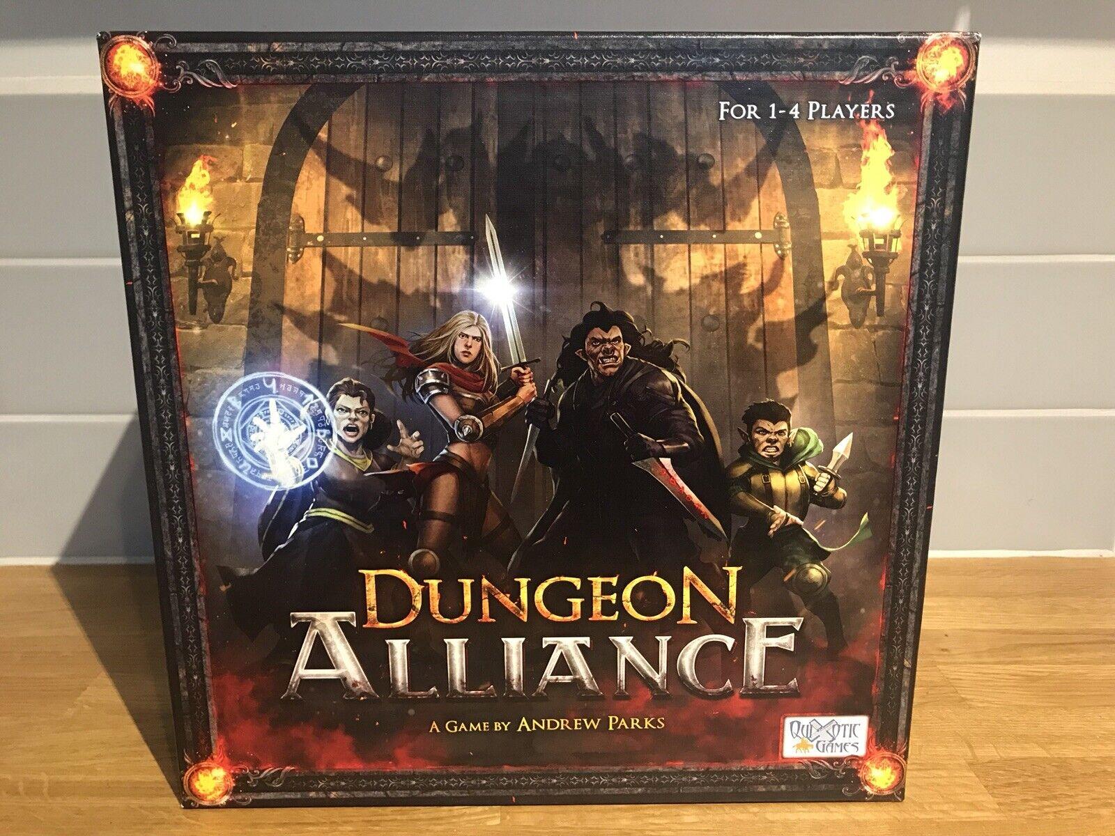 Quijotesco Juegos BoardJuego Dungeon Alianza-Fantasía Aventura exploración
