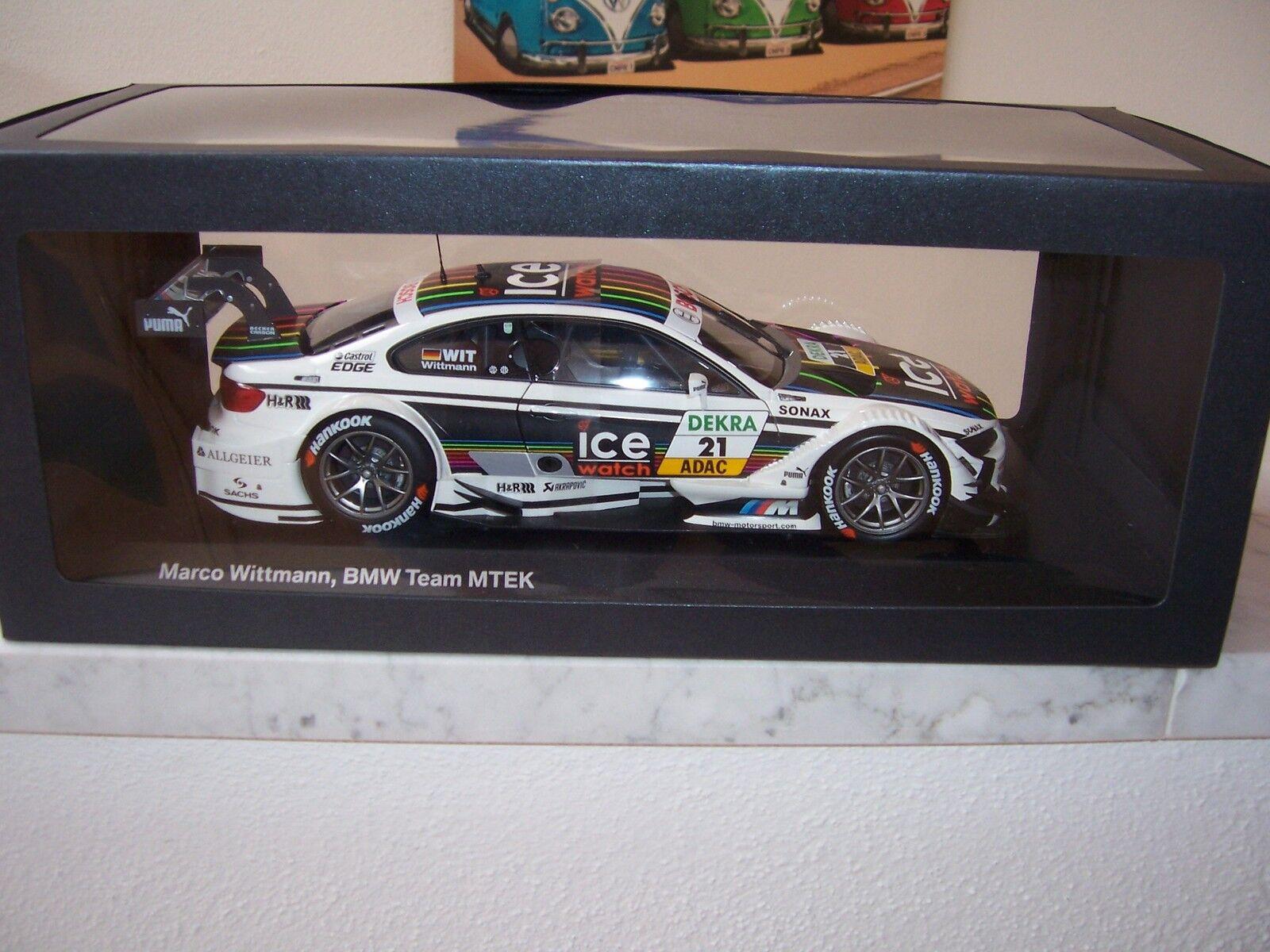 BMW M3 DTM 2013 Marco Wittmann BMW Team MTEK 1 18