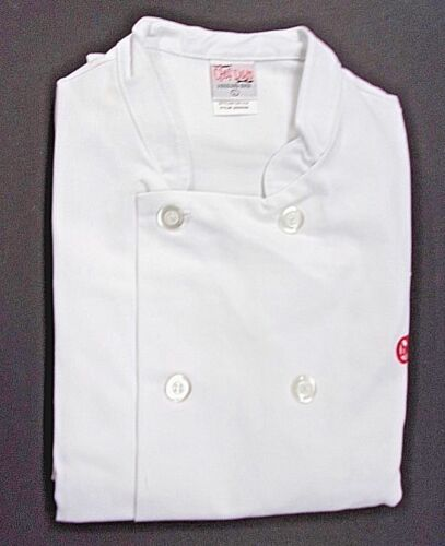 White Chef Uniform Jacket Large The Cheesecake Factory Chef Duds