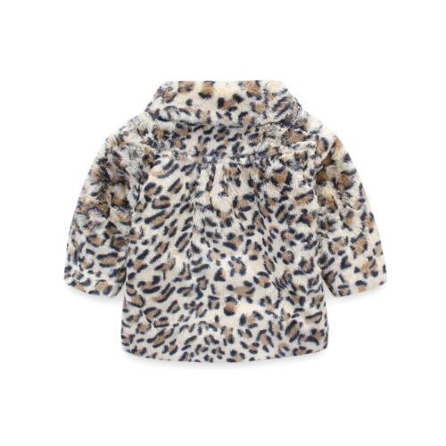"Baby Coat Girls Winter Swing Jacket Formal Coat /""Animal Print/"" 3M Online Only"