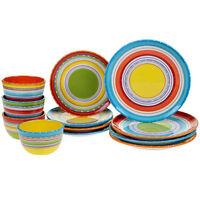 Certified International Mariachi 12piece Dinnerware Set Free Shipping