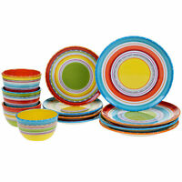 Certified International Mariachi 12piece Dinnerware Set Free Shipping