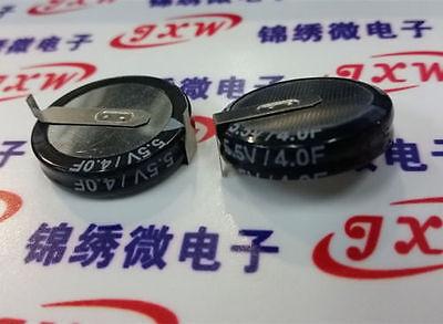 5pcs 5.5v 4F super capacitor farad capacitor 4F super capacitor double layer