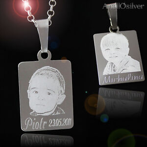 Sterling-Silver-925-Pendant-Chain-in-any-lenght-with-Engraving-Photos-Imagines