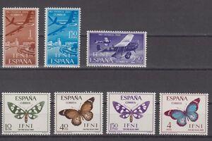 SPAIN-IFNI-COMPLETE-MNH-YEAR-1966-EDIFIL-218-24