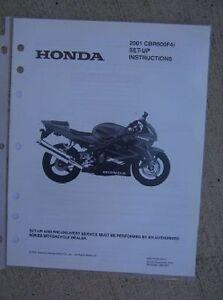 2001 honda motorcycle cbr600f4i set up instruction manual image is loading 2001 honda motorcycle cbr600f4i set up instruction manual