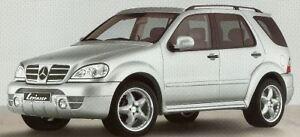 Mercedes-Lorinser-Wide-Fender-Flare-Kit-ML-Class-W163