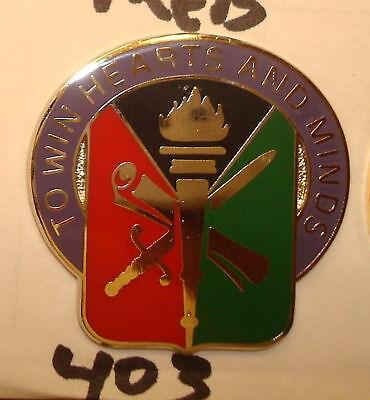 S-38 Hm Coins & Paper Money Crest,di ##-new-##,403rd Civil Affairs Bde Medals