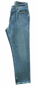 AUTHENTIC MENS A&F ABERCROMBIE FITCH BLUE VINTAGE JEANS, PANTS