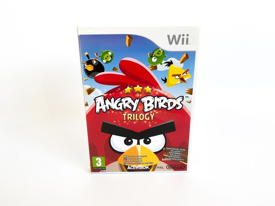 Angry Birds Trilogy, Nintendo Wii