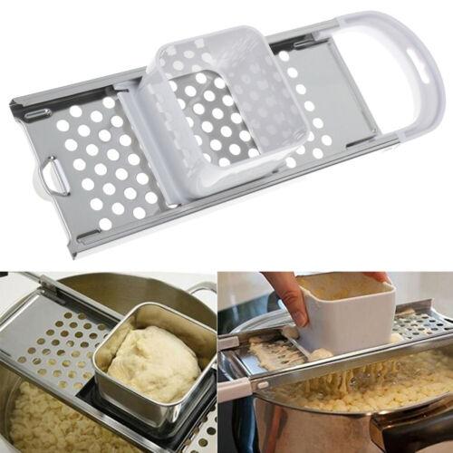 Maschine manuelle Nudeln Spätzle Maker Edelstahl Messer Knödel Nudelmaschin ZR