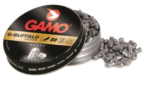 GAMO G-BUFFALO HEAVY 4,5 mm  200 PZ  .177 piombini POWER
