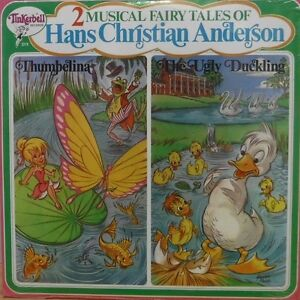 2 Musical Tales of Hand Christian Anderson 3319 33RPM 071117DBE