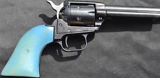 Heritage Rough Rider pistol grips color change in the sunlight pearl to blue!