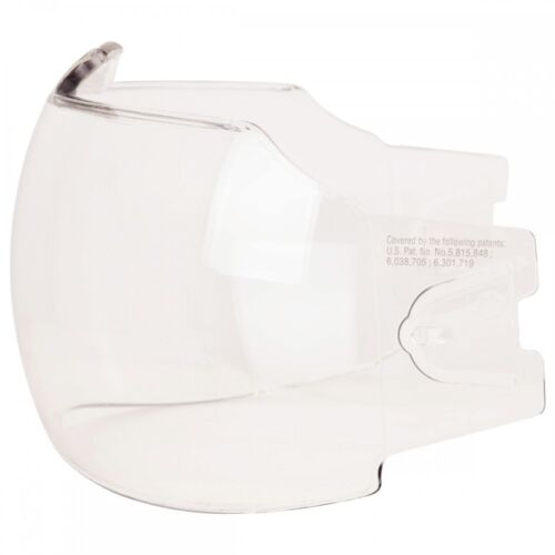 Bauer DLX Clear Visor Replacement Lens Visors 2 Pack Helmet Face Shield Cage