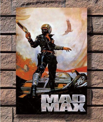 Art Poster 24x36 27x40 Mad Max Classic Hot Movie Series Car Road T-1795