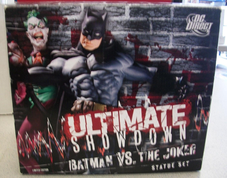 D.C. Direct Ultimate mostrarossoown Batuomo Vs The  Joker nuovo in scatola numberosso  750  più preferenziale