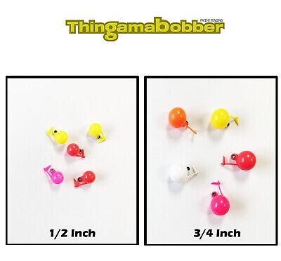 """Thingamabobber 1//2/"""" 3//4/"""" 1/"""" Assorted Colors /& Sizes Fly Fish Strike Indicators"""